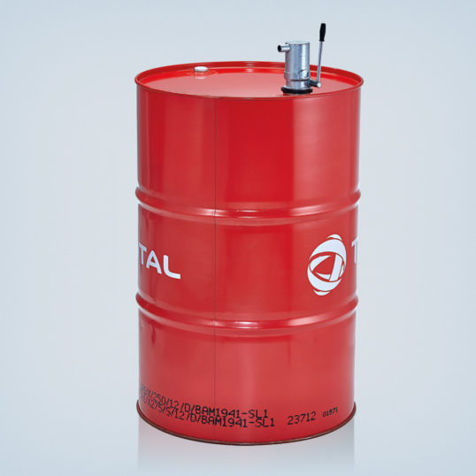 "Heating oil hand pump R 2"" in metal design"