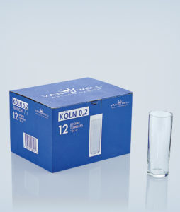 Set of 12 Kölsch glasses 0.2 liters