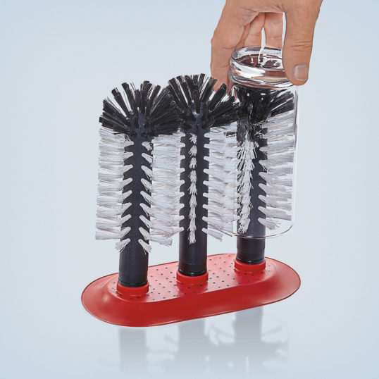 Cleaning brush 3 parts