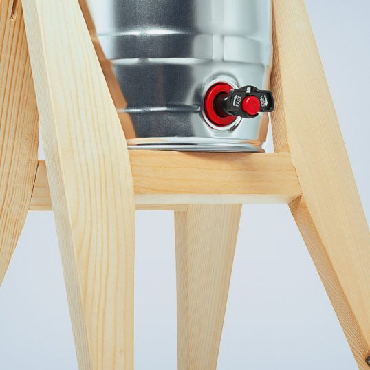 tap - trestle made of wood