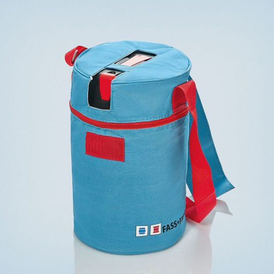Cooling bag for CO² keg 5 liter with carrying strap