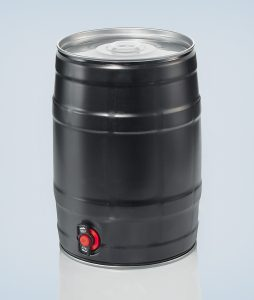 Party keg 5 litre black